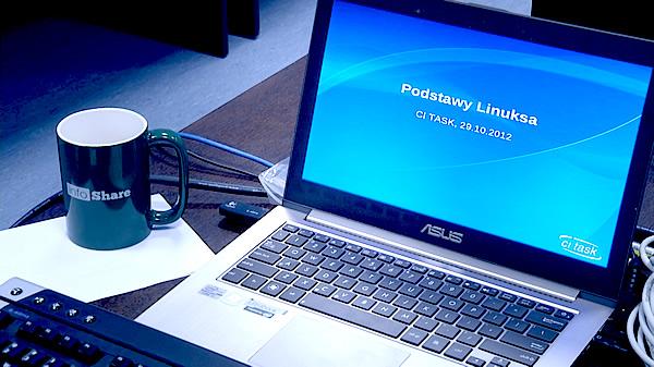 Kurs Linuxa w CI TASK