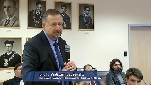 Platforma KASKADA - prof. Andrzej Czyżewski