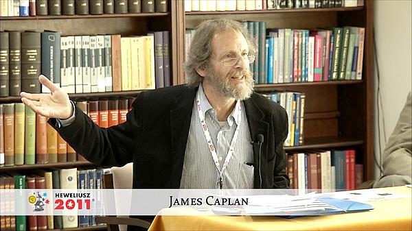 Konferencja Hevelius 2011 - Sesja 2 - James Caplan