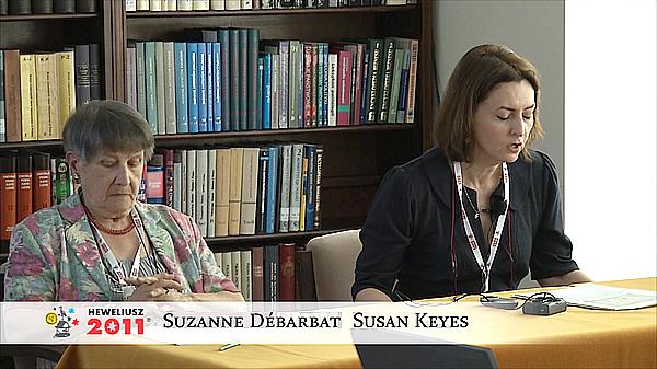 Konferencja Hevelius 2011 - Sesja 7 - Suzanne Débarbat, Susan Keyes