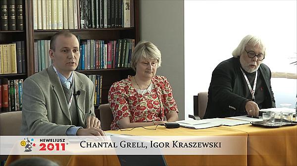Konferencja Hevelius 2011 - Sesja 7 - Chantal Grell, Igor Kraszewski