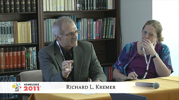 Konferencja Hevelius 2011 - Sesja 3 - Richard L. Kremer
