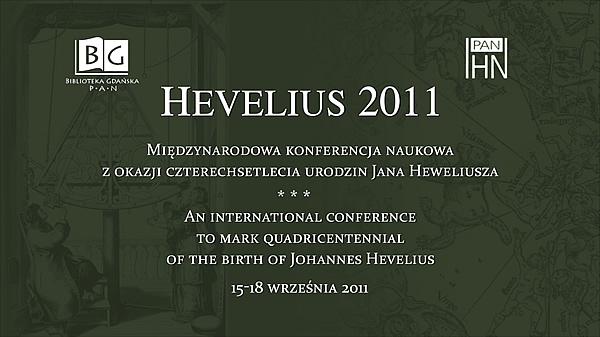 Konferencja Hevelius 2011 - otwarcie konferencji