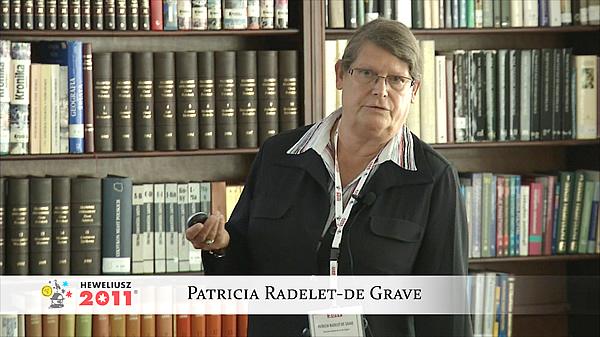 Konferencja Hevelius 2011 - Sesja 4 - Patricia Radelet-de Grave