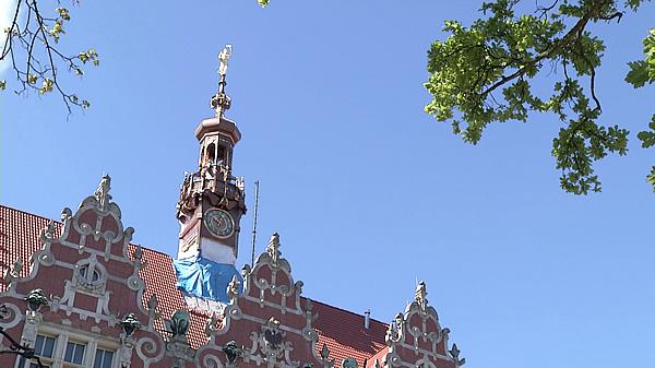 Wieża zegarowa Gmachu Głównego Politechniki Gdańskiej