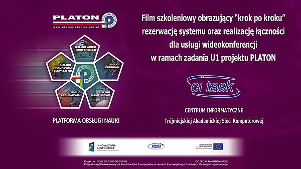 Film szkoleniowy PLATON U1 - WIDEOKONFERENCJA
