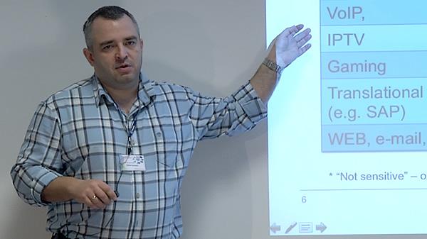 Szkolenie JUNIPER 2012 - cz. 3 - Rafał Szarecki : Quality of Service