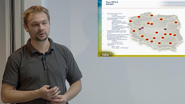 Szkolenie JUNIPER 2012 - cz. 9 - Tomasz Szewczyk : Implementacja usług w sieci NewMAN - update