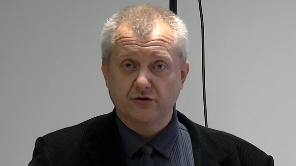 I Pomorskie Spotkanie Użytkowników systemu Siemens NX - część 1 - Rozpoczęcie - prowadzi dr Cezary Żrodowski.