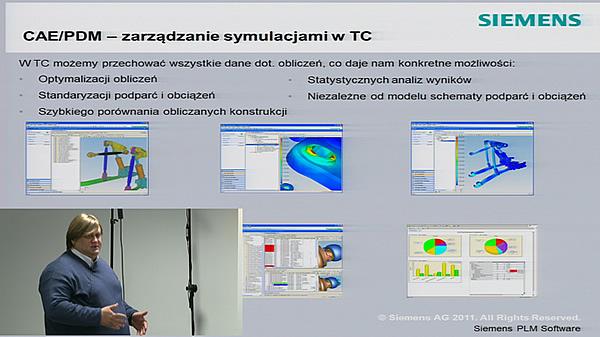 I Pomorskie Spotkanie Użytkowników systemu Siemens NX - część 3 - Zagadnienia techniczne - prowadzi Michał Marcinowski.