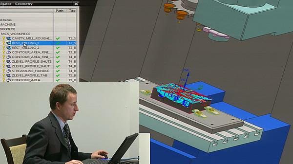 I Pomorskie Spotkanie Użytkowników systemu Siemens NX - część 5 - Zastosowania CAM - prowadzi Grzegorz Kozłowski.
