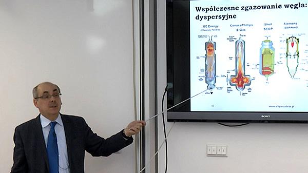 Zgazowanie węgla - dr hab. inż. Marek Ściążko