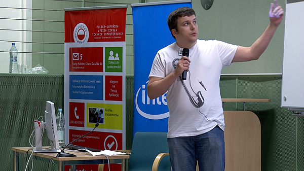 Konferencja YABC 2013 - Hubert Niećko