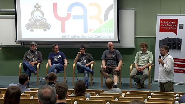 Konferencja YABC 2013 - sesja pytań i odpowiedzi